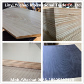 Hardwood core melamine plywood