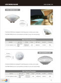 Swimming pool lamp manufacturers