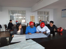 kenya clients visit factory to buy LPG tank