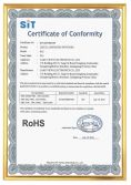 ROHS Certification of PLC Series
