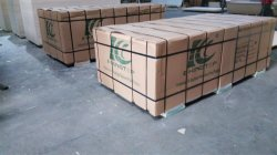 6mm warm white melamine paper laminated plywood for export packment