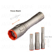 Mini Zoom 5W Aluminum LED Flashlight (11-1T1601)