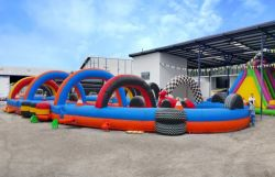 Inflatable Race Track Sold to a Costa Rica Customer