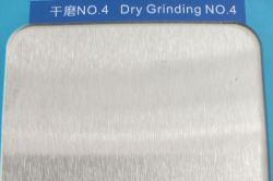 SS304 No.4 dry grinding