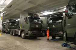 25 Units HOWO A7 Tractor Truck
