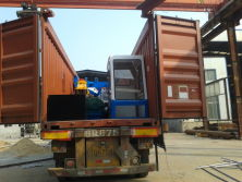 shipment in container