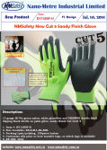 NMSafety New Cut 5 Sandy Finish Glove