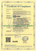 RoHS Certificate Compliance for Inverter
