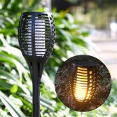 New Hot Item Solar Torch LED Flame Lights