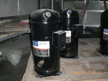 Compressor of water chiller