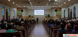 P3 indoor led display in church
