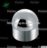 stainless steel domelike end cap for round handrail tube