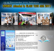 SANKEN attended in GLASS TECH ASIA 2011