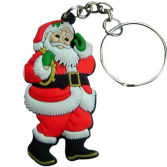 Hot sale Halloween New Design PVC Christmas Keychain
