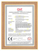 CE Certificate of Glass Edging Machine