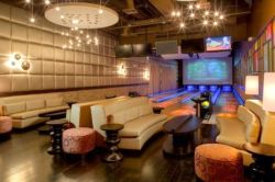 luxury bowling lanes