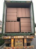 plywood container loading