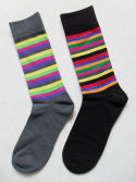 men strip socks