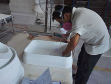 Workshop For solid surface baisn