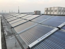 Hospital solar hot water project