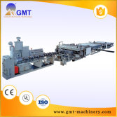 PC PP PE hollow sheet board production line
