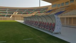 VIP soccer team shelter/ dugout project in Saudi Arabia