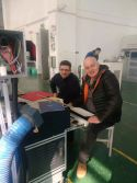 Serbia customer have training