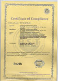 ROHS Certificates of Cantonk
