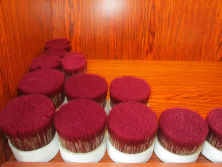pbt brush filament mixed boiled bristle sample