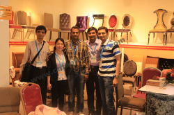 Customer visit our fair in guangzhou