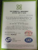 ISO14001 of Our laundry machine