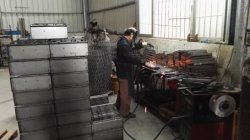 Co2 welding works for metal wire rack