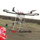 Multi-Rotor Unmanned Plant Protection Helicopter Sprayer