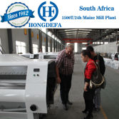South Africa client 1500t maize mill