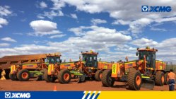XCMG mining graders applied in the mining giant BHP Billiton.