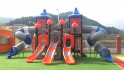 space style outdoor amusement park playground