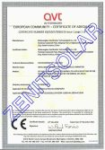 EUROPEAN COMMUNITY-CERTIFICATE OF ADEQUACY