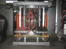 3Ton Induction Melting Furnace & 3Ton Hot Metal Ladle were shipped for Bulgaria