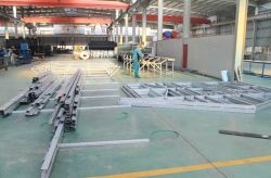 Light steel villa production assembly