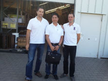 Spainish Customer Visiting