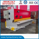 QC11Y-20x3200 Hydraulic guillotine shearing machine