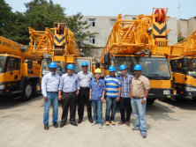 Indian customers to visit XCMG
