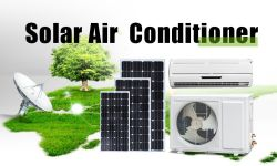100% solar powered air conditioner 24000Btu solar air conditioner