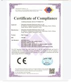 EMC certificate for wall charger