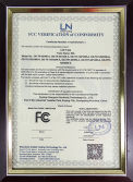 FCC certificate for LED Tube