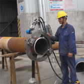 Hydraulic High Efficiency Pipe Cutting And Chamfering Machine