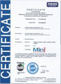 RoHS Certificate for Omnidirectional Barcode Scanner