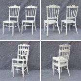 White Wedding Napoleon Chair