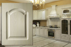 Kitchen Furniture PVC Film MDF Core Cabinet Door