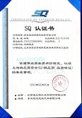 SQ certificate from Mobis